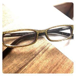 e484d9d6cb70 Jimmy Crystal. Jimmy Crystal Swarovski Reading Glasses